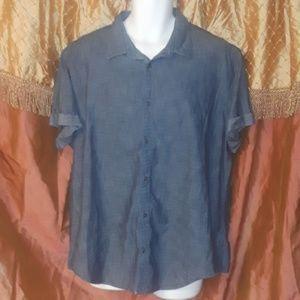 Calvin Klein Jeans Button  up Short Sleeve shirt